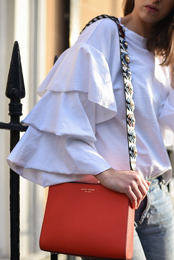 HM-frill-sleeve-top-Henri-Bendel-red-west-57th-turnlock-satchel-Thankfifi-Scottish-fashion-blog-11