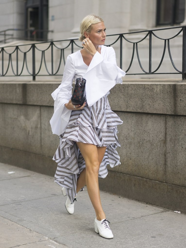 Ruffled-Skirts-Were-Spotted-All-Around-NYFW