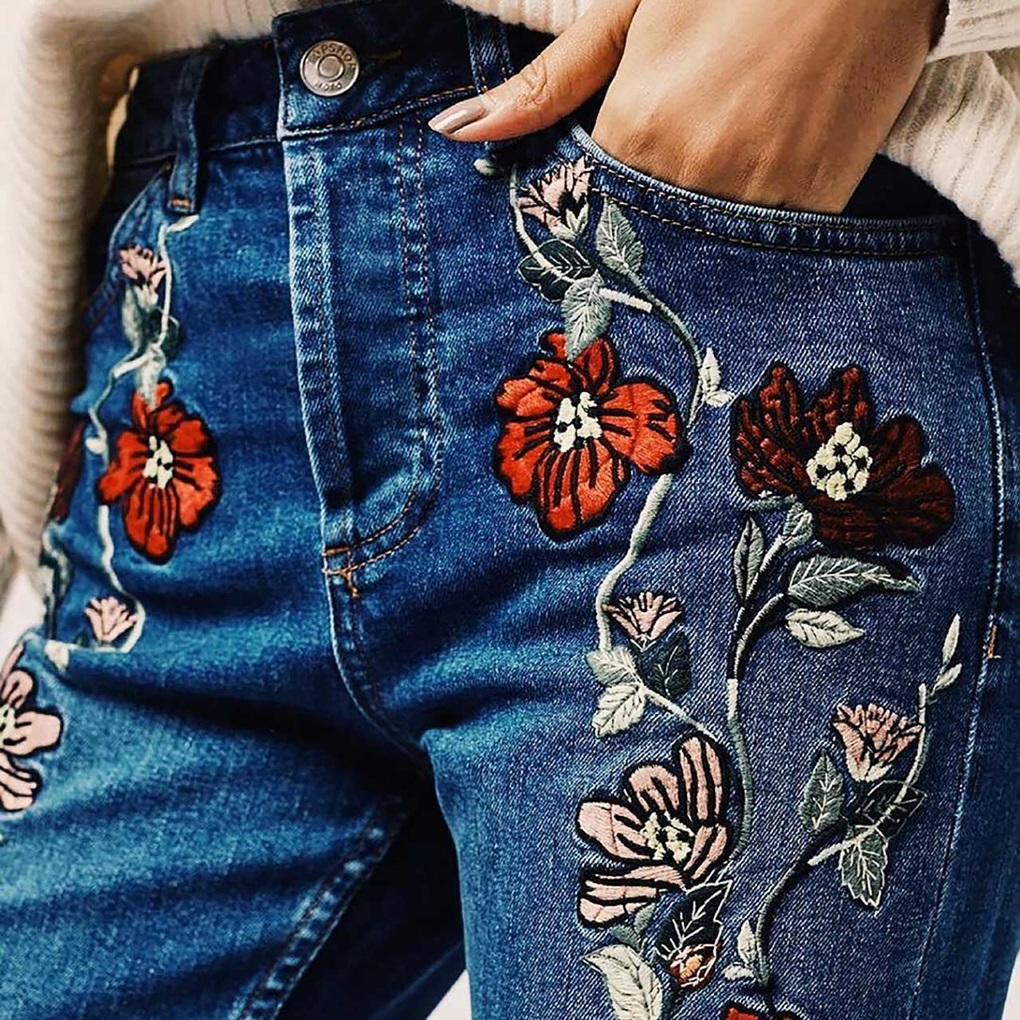 embroidered-denim-trend