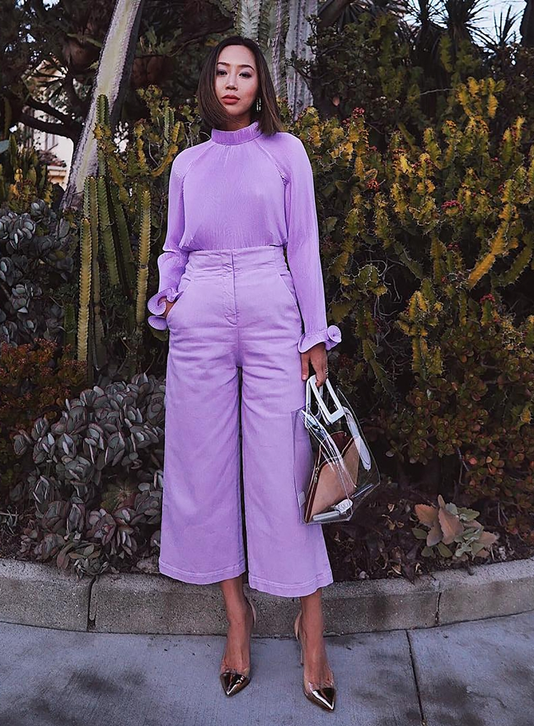 Sydne-Style-shows-how-to-wear-lavender-for-spring-with-outfit-ideas-from-fashion-blogger-song-of-style