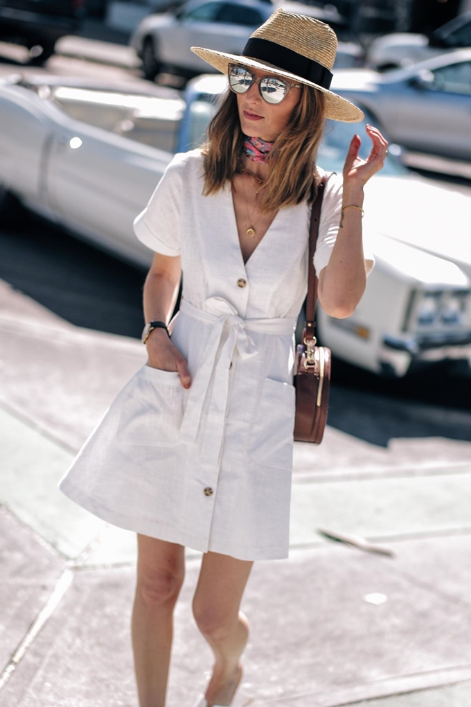 Jess-Ann-Kirby-Moon-River-Linen-Dress-Brixton-Straw-Hat-1000787